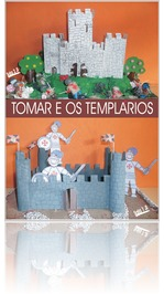 poster book about Tomar's foundation and the Templar Knights