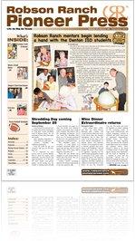 Robson Ranch Pioneer Press - September 2010