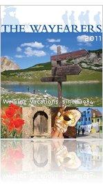 The Wayfarers Walking Vacations 2011 Brochure