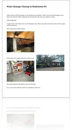 Water Damage Cleanup in Doylestown PA