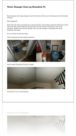 Water Damage Clean up Bensalem PA