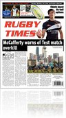 Rugby Times - 29th Oct 2010
