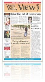 West Valley View : Vol. 25, Issue No. 057: Friday, October 29, 2010