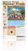 Robson Ranch Pioneer Press - October 2014