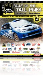 Rally of the Tall Pines - Official 2010 Program