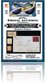 Universal Philatelic Auctions 13th January 2015