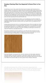 Bamboo Flooring What You Required To Know Prior to You Buy