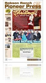 Robson Ranch Pioneer Press - December 2014