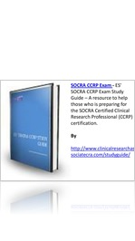 read es socra ccrp exam study guide an ultimate resource for the rh express yudu com Exam Study Guide Book Exam Study Guide Brady Michael Morton