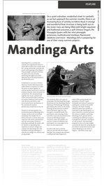 Mandinga Arts, mailout, JJA 2010