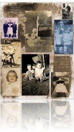 Children Collage Digital Sheet by dog eared magazine