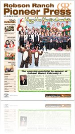 Robson Ranch Pioneer Press - January 2011
