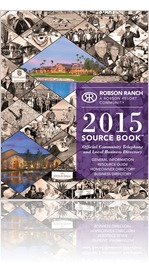 2015 Robson Ranch Source Book�