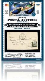 Universal Philatelic Auctions 14th April