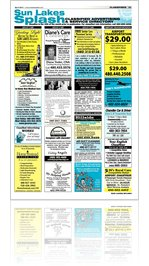Sun Lakes Splash Classifieds - April 2011