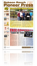 Robson Ranch Pioneer Press - May 2015