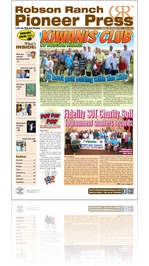 Robson Ranch Pioneer Press - June 2015
