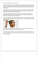 Great Tips In Hairdressing  You Can Use Now
