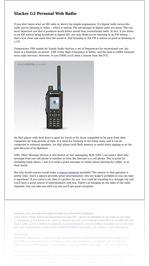 Slacker G2 Personal Web Radio