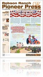 Robson Ranch Pioneer Press - June 2011