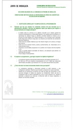 ORIENTACIONES METODOL�GICAS AL PROFESORADO DE �REAS NO LING��STICASDE EDUCACI�N SECUNDARIA