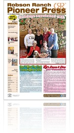 Robson Ranch Pioneer Press - January 2016
