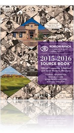 2015-2016 Robson Ranch Texas Source Book�