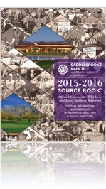 2015-2016 SaddleBrooke Ranch Source Book™