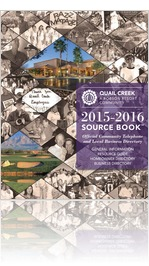 2015-2016 Quail Creek Source Book™