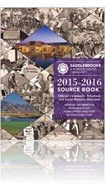 2015-2016 SaddleBrooke Source Book�