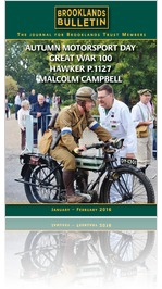 Brooklands Bulletin 37 January / Feruary 2016