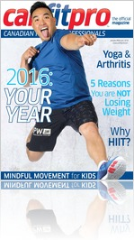 canfitpro Magazine January - February 2016