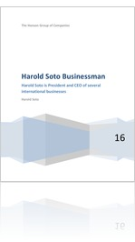 Harold Soto - CEO at The Hanson Group of Companies