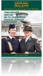 Brooklands Bulletin 40 July/ August 2016