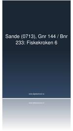 Fiskekroken 6, Sande.