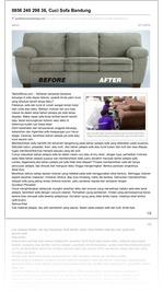 cuci sofa bandung - 0813 2245 3138