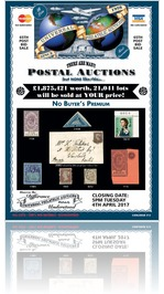 Universal Philatelic Auctions 4th April