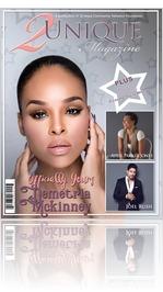 R&B Singer/Actress Demetria Mckinney graces the cover of 2Unique Magazine
