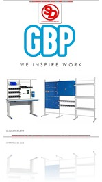 GBP Workbenches UK catalogue 2018 from Storage Design Limited