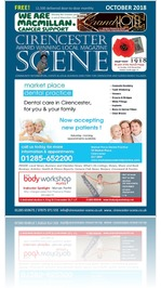 CS131 - Cirencester Scene October 18 Issue
