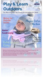 Play and Learn Outside January 2019 | P&LO School Newsletter | Able Canopies Ltd.