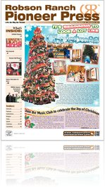 Robson Ranch Pioneer Press - December 2011