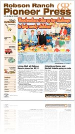 Robson Ranch Pioneer Press - January 2012