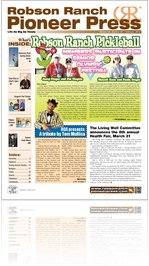 Robson Ranch Pioneer Press - February 2012