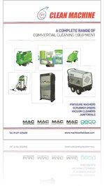 Clean Machine Commercial Cleaning Equipment