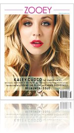 The March 2012 issue of Zooey Magazine