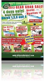 Alberni Outpost's 2012 GEAR GRAB SALE!