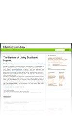 The Benefits of Using Broadband Internet