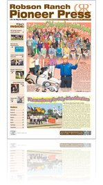 Robson Ranch Pioneer Press - June 2012