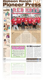 Robson Ranch Pioneer Press - July 2012